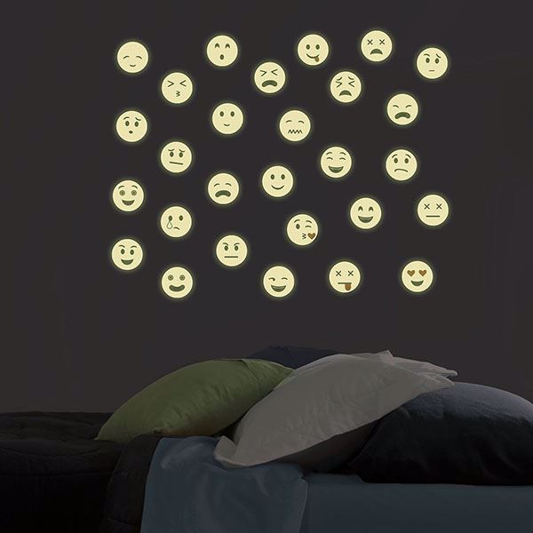 Picture of Mixed Emotions Glow in the Dark Wall Art Kit