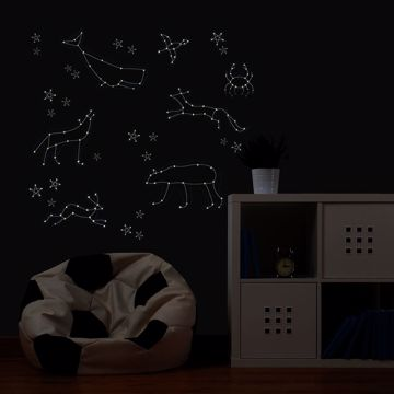 Reach for the Stars Glow in the Dark Wall Decal