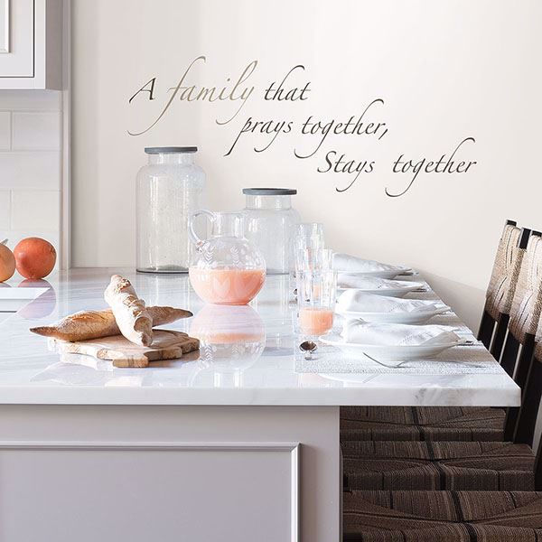 Picture of Pray Together Wall Quote Decals