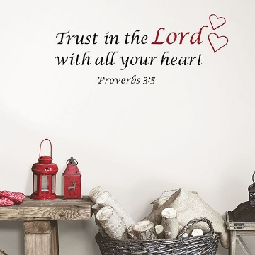 Picture of Trust Wall Quote Decals