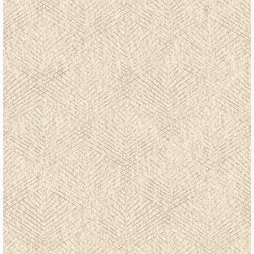 Picture of Tangent Khaki Geometric Wallpaper