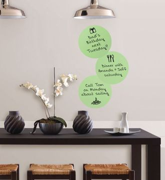 Picture of Oh Pear Dry Erase Dot Decals