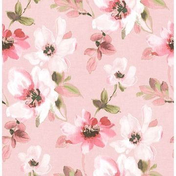 Picture of Reign Pink Bouquet Wallpaper