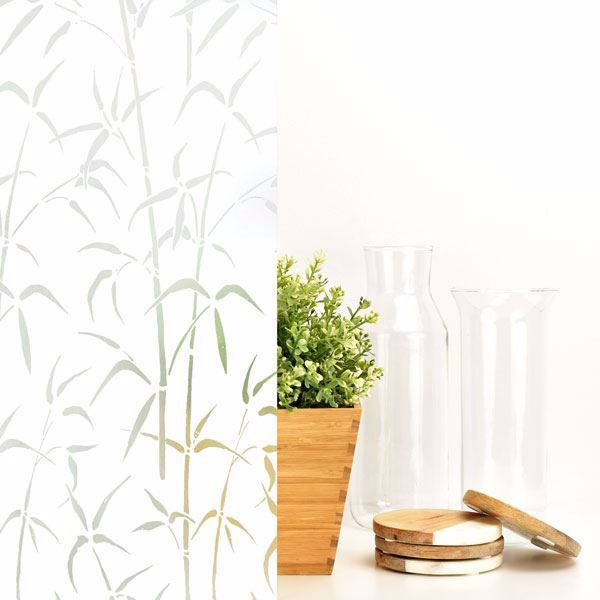 Bamboo Window Film
