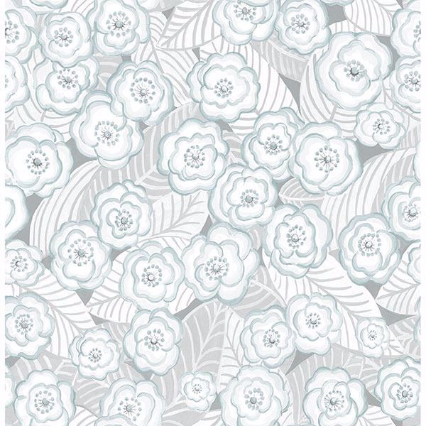 Picture of Oopsie Daisy Grey Peel & Stick Wallpaper