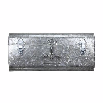 Picture of Hillard Large Galvanized Silver Case