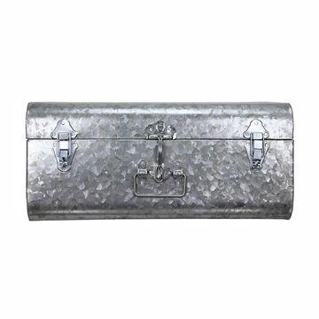 Picture of Hillard Large Galvanized Silver Case