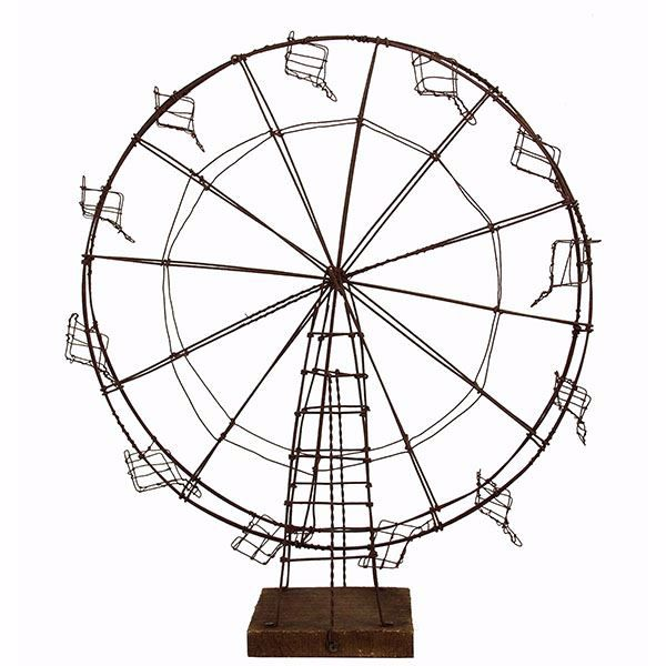 Picture of Linden Large Brown Ferris Wheel