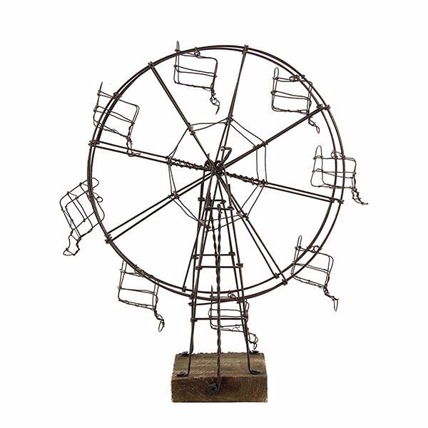 Picture of Linden Medium Brown Ferris Wheel