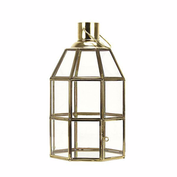 Picture of Bismark Small Brass Lantern