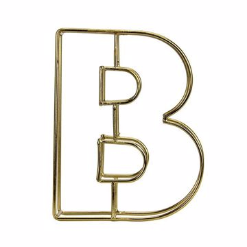 Picture of Amaral Gold B Monogram