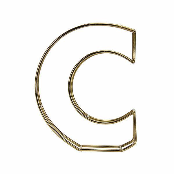 Picture of Amaral Gold C Monogram