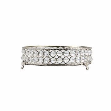 Picture of Yasmine Small Silver Bling Round Tray