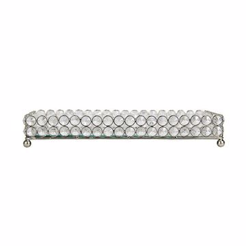 Picture of Yasmine Medium Silver Bling Rectangular Tray