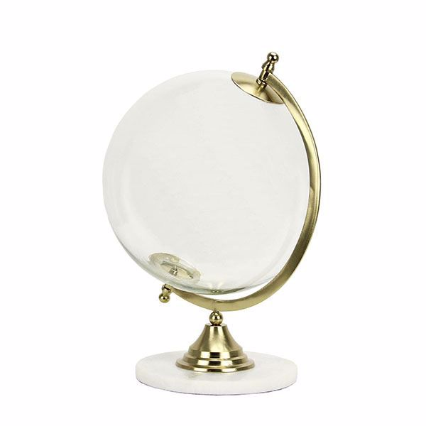 Picture of Gabby Gold Glass and Marble Globe