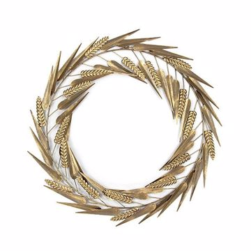 Picture of Laddies Gold Metal Wreath