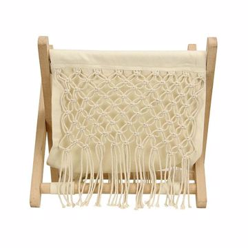 Picture of Macrame Storage Rack