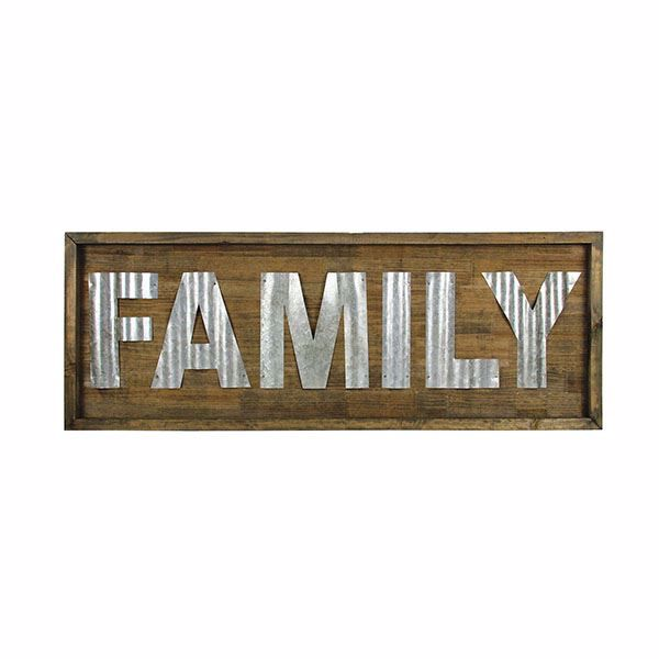 Picture of Stetson Family Wood Wall Decor