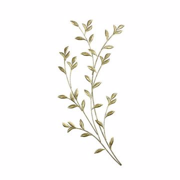 Picture of Saba Gold Botanical Wall Decor