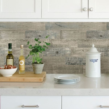 Picture of Coastal Wood Peel & Stick Backsplash