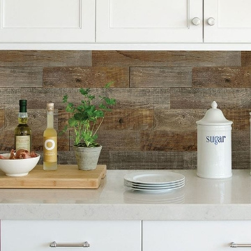Picture of Farm Wood Peel & Stick Backsplash