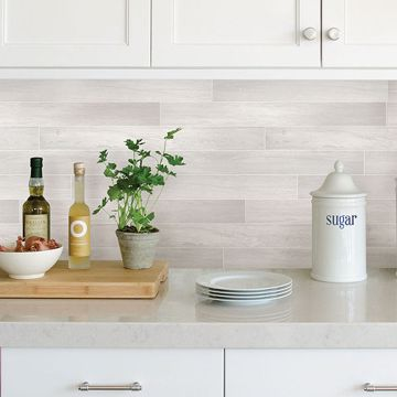 Picture of Timber Tile Peel & Stick Backsplash