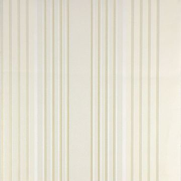 Vickie Cream Stripe Wallpaper
