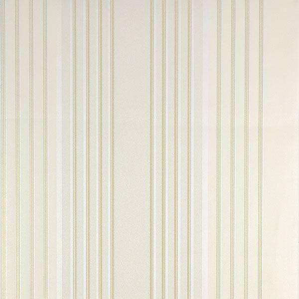 Vickie Cream Stripe Wallpaper