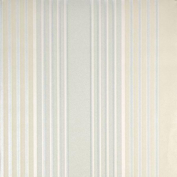 Vickie Turquoise Stripe Wallpaper