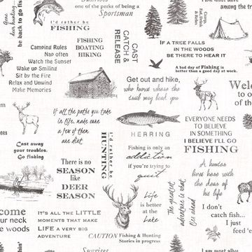 Picture of North Hills Black Camping Quotes Wallpaper