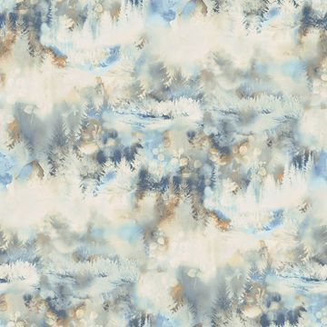 Picture of Tamarack Blue Forest Wallpaper