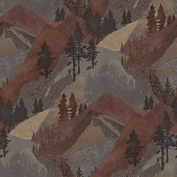 Picture of Range Rust Mountains Wallpaper