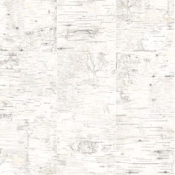 Picture of Champlain Off-White Grid Wood Wallpaper
