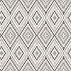 Picture of Ganado Dark Brown Geometric Ikat Wallpaper