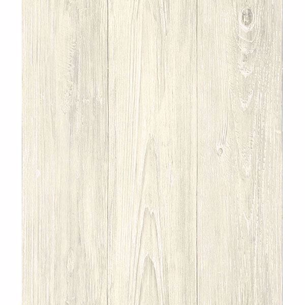 Mapleton Cream Shiplap Wallpaper