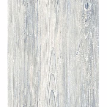 Picture of Mapleton Light Grey Shiplap Wallpaper