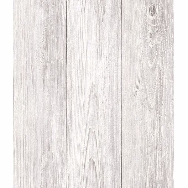 Mapleton Off-White Shiplap Wallpaper