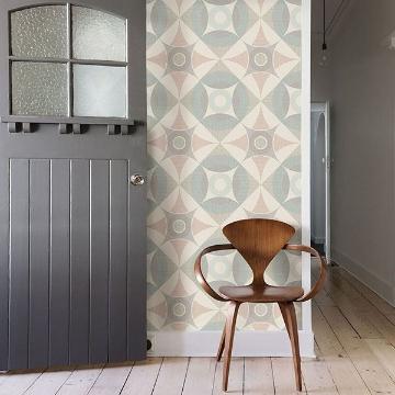 Picture of Ellis Multicolor Geometric Wallpaper
