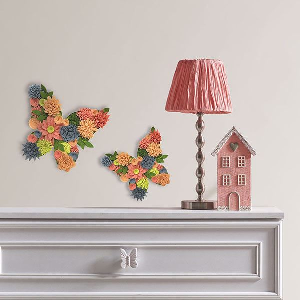 Picture of Butterfly Bouquet 3D Wall Art Kit