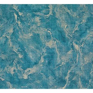 Picture of Unito Rumba Blue Marble Texture Wallpaper