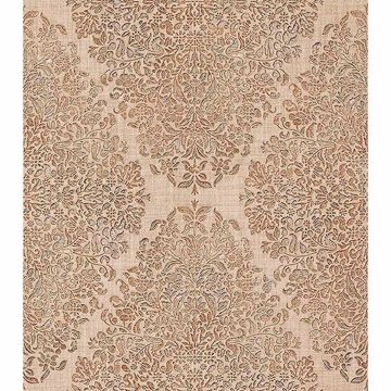 Picture of Dis Neroz Beige Damask Wallpaper