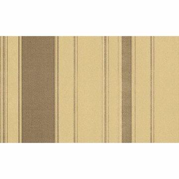 Picture of Riga Bordone Taupe Stripe Wallpaper