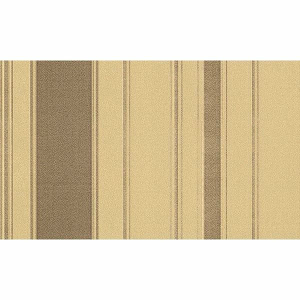 Picture of Riga Bordone Taupe Stripe Wallpaper
