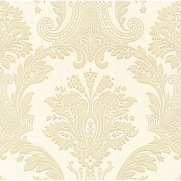 Picture of Dis Marco Polo Cream Damask Wallpaper