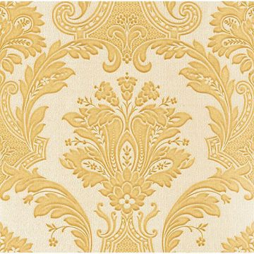 Picture of Dis Marco Polo Gold Damask Wallpaper