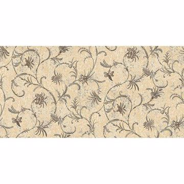 Picture of Dis Libellula Yellow Jacobean Wallpaper