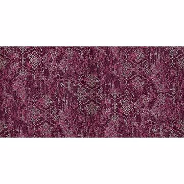 Picture of Unito Libellula Burgundy Damask Wallpaper