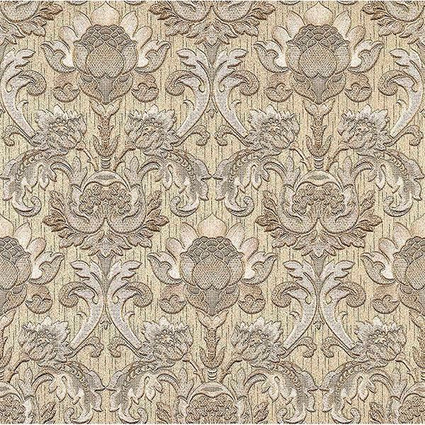 Picture of Dis Scudo Gold Damask Wallpaper