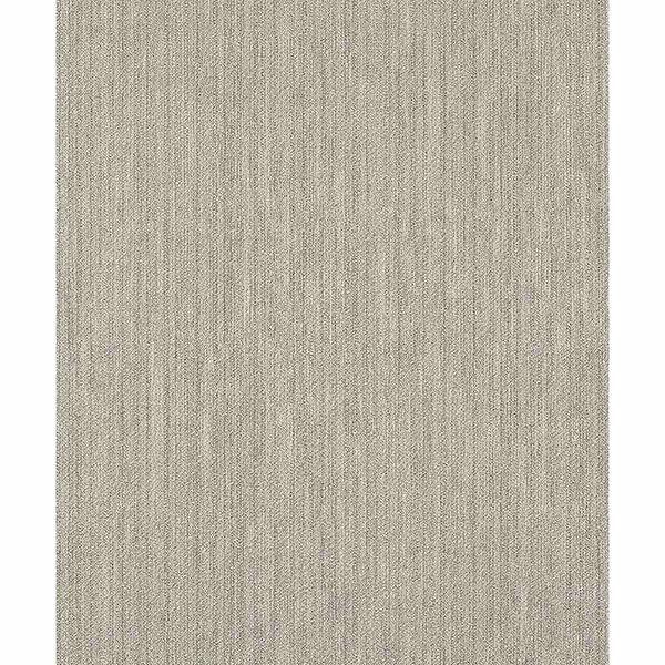 Picture of Unito Zeno Silver Fabric Texture Wallpaper