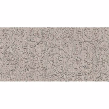 Picture of Coord Zeno Silver Scroll Wallpaper